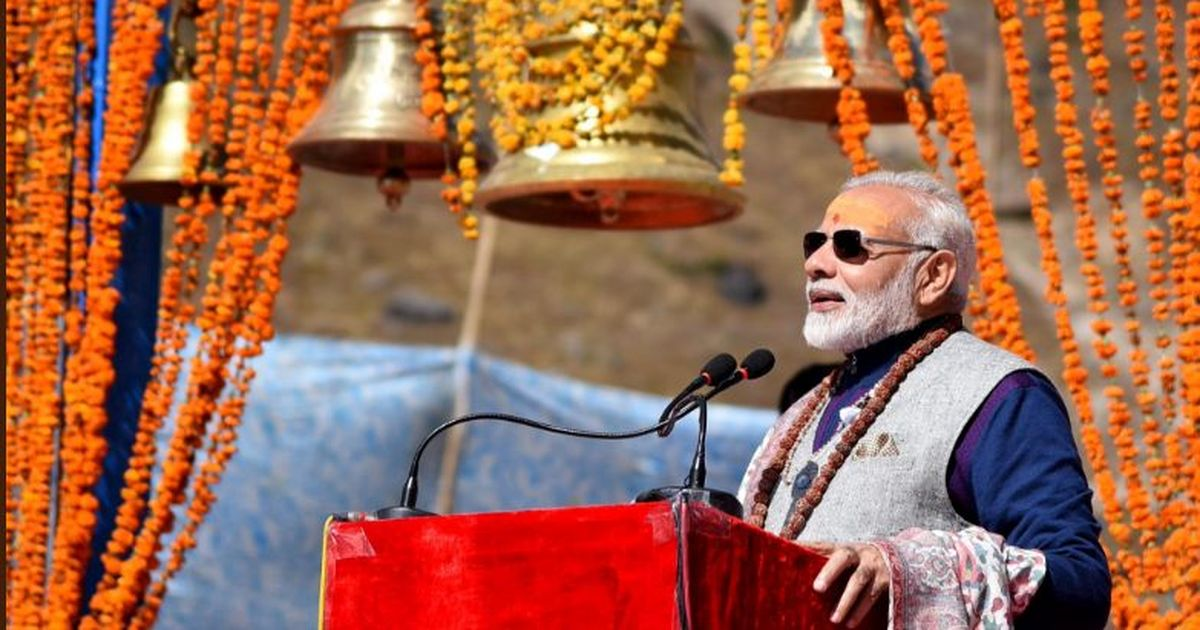 Narendra Modi criticises Congress for refusing help in 2013 after flash floods in Kedarnath