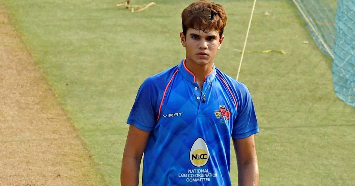 Arjun Tendulkar grabs five-wicket haul in Cooch Behar Trophy