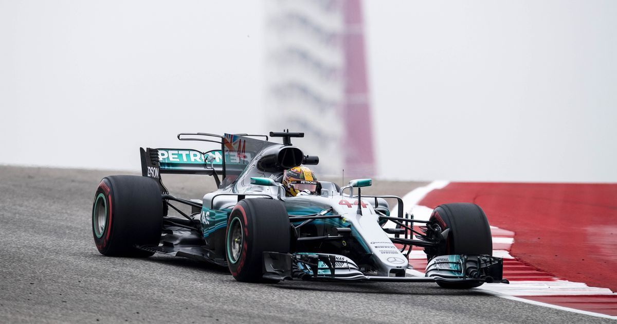 Brazilian GP: Lewis Hamilton stays on track with record-breaking 'double top' in practice