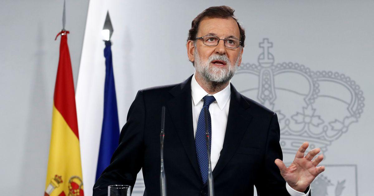 स्पेन : प्रधानमंत्री मारियोनो राख़ोय ने अविश्वास प्रस्ताव पर मतदान से पहले इस्तीफा दिया