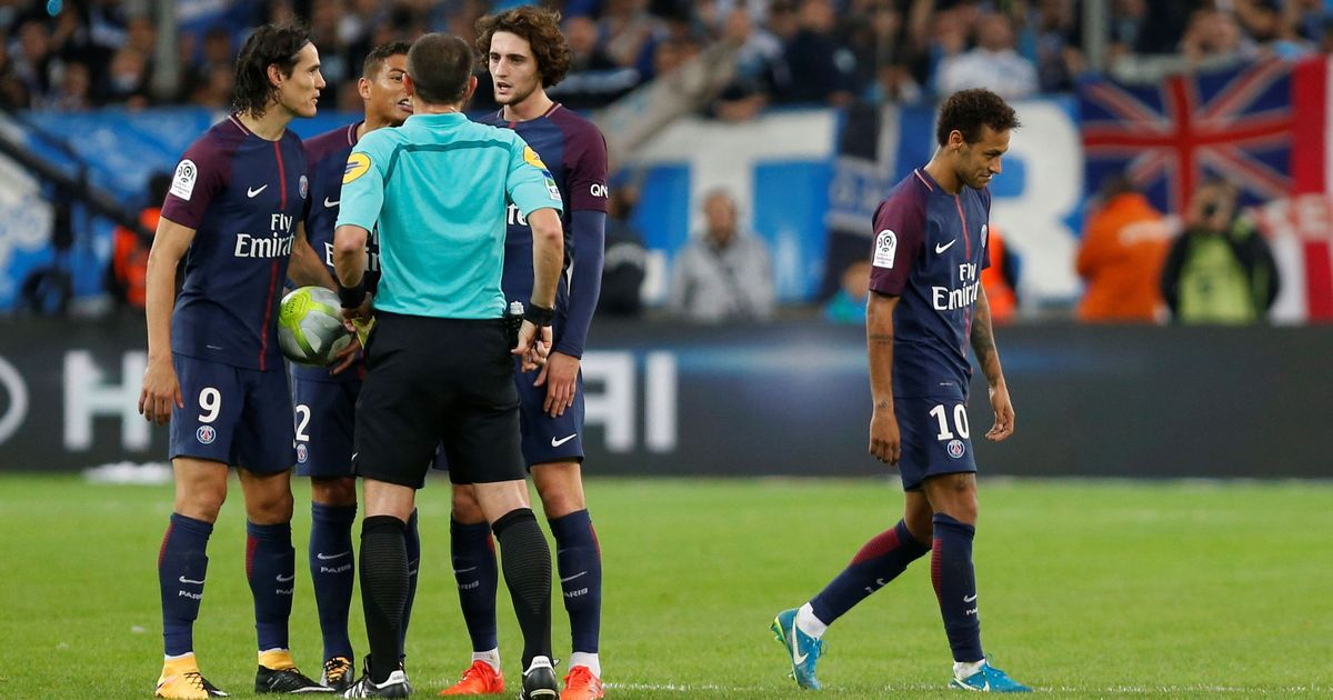 'Referee fell for Marseille's theatrics': Neymar left furious after red-card incident