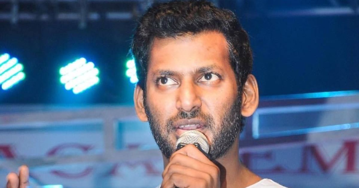 Actor Vishal's production house in Chennai inspected by GST Intelligence Agency