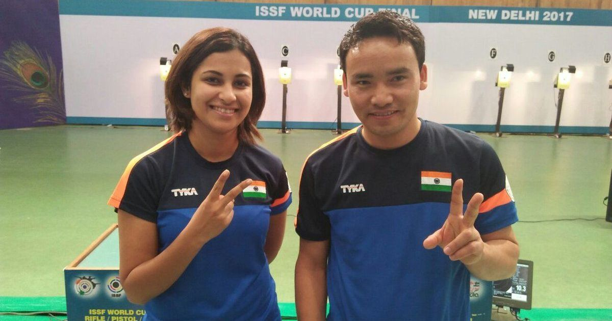 India Win 10m Air Pistol Mixed Team Gold at ISSF World Cup