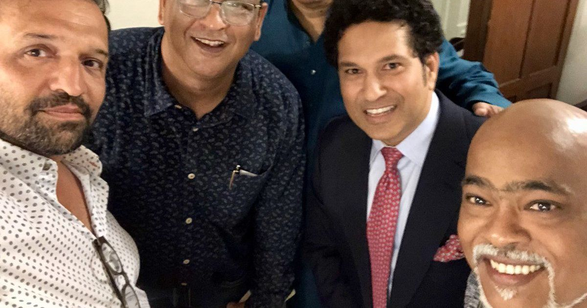 We hugged, everything is fine between us: Kambli claims feud with Tendulkar is over