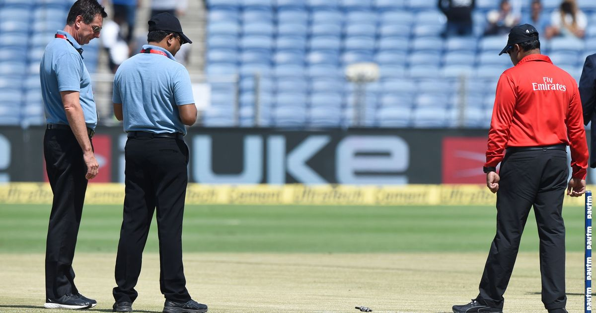 Pune pitch curator Pandurang Salgaoncar suspended by ICC