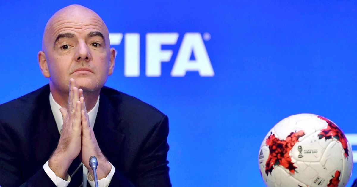 Racists should be charged for crime and kicked out of football stadiums: Fifa president Infantino