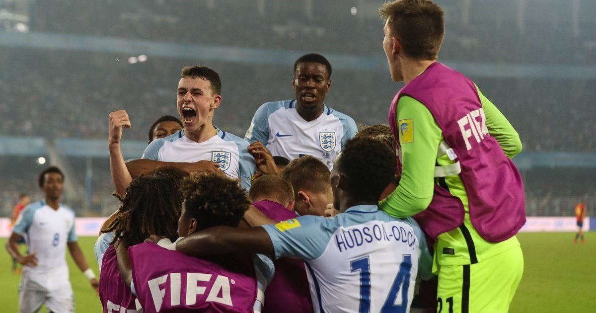 From 0-2 down to 5-2, England thrash Spain to lift Fifa Under-17 World Cup