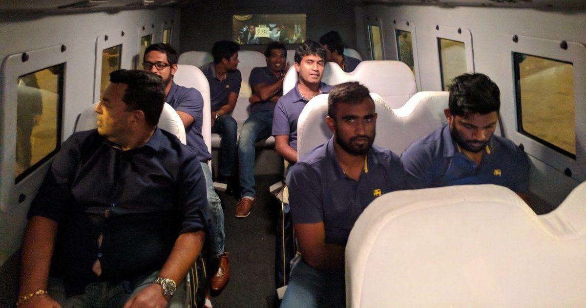 Sri Lankan cricket team lands in Pakistan amid tight ...