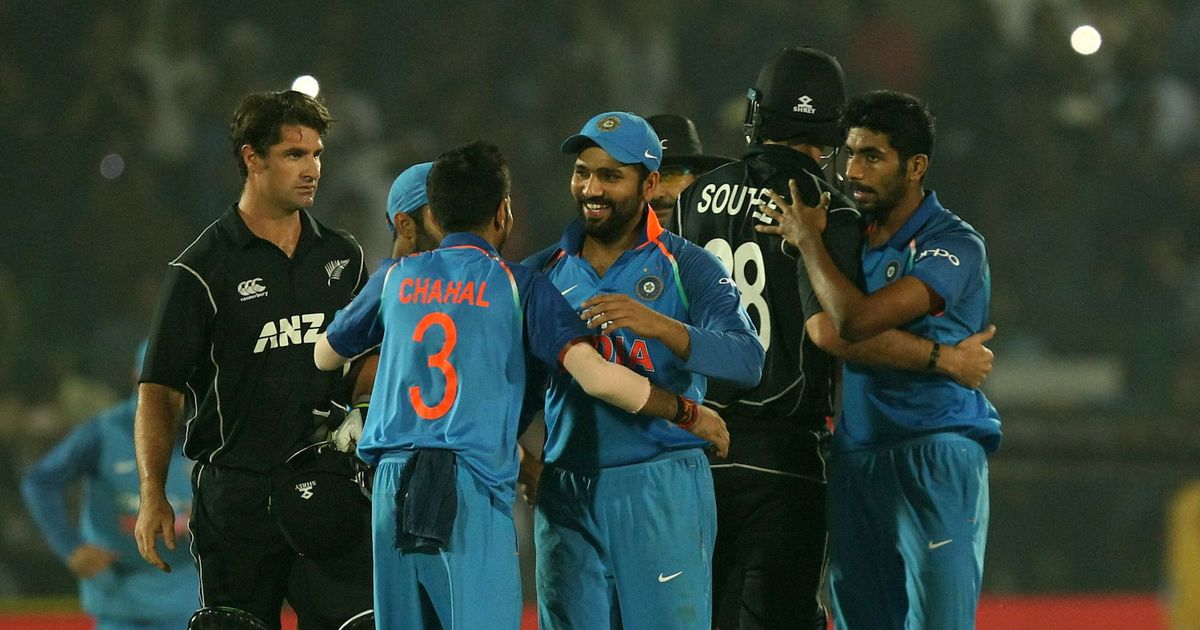 Image result for india new zealand final odi in kanpur images photos