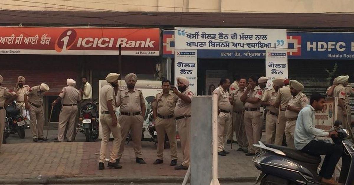 Amritsar: Security beefed up amid shutdown call to protest death of Hindu Sangharsh Sena leader
