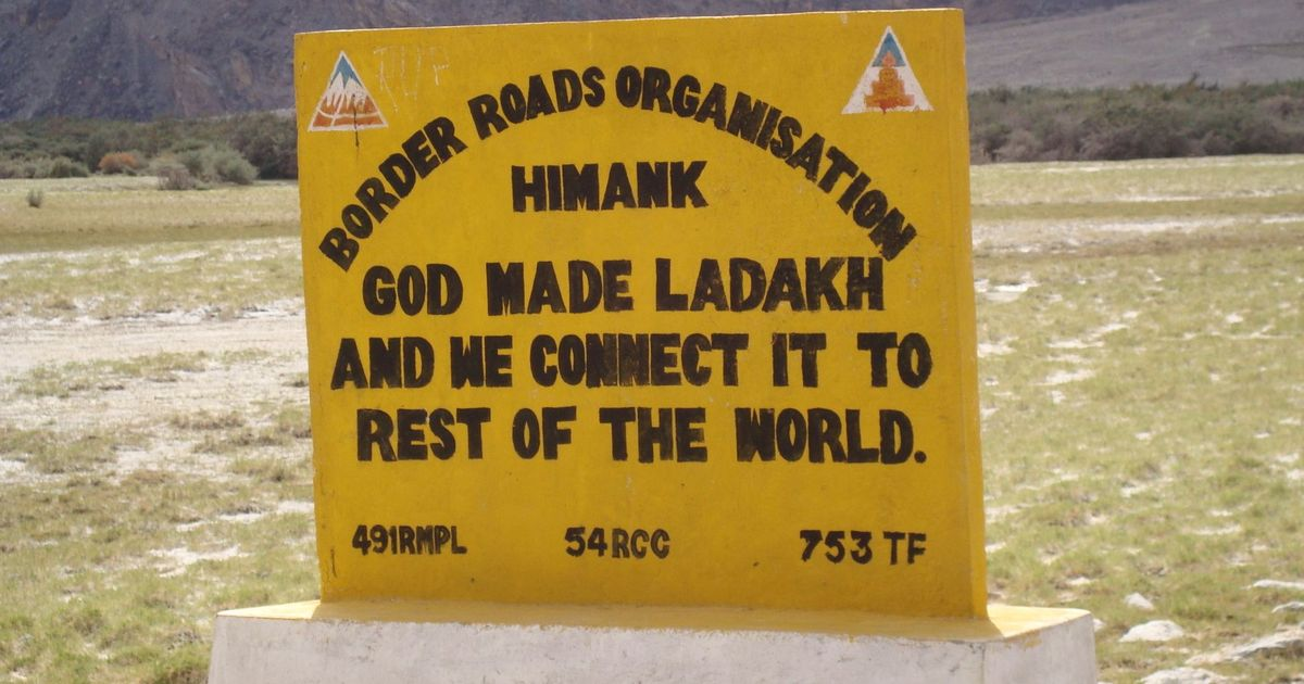 Ladakh Gets Worlds Highest Motorable Road At 19300 Ft Built By