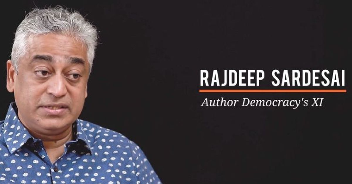 Rajdeep Sardesai's 'Democracy's XI' shortlisted for the MCC Book Of The Year Award 2018