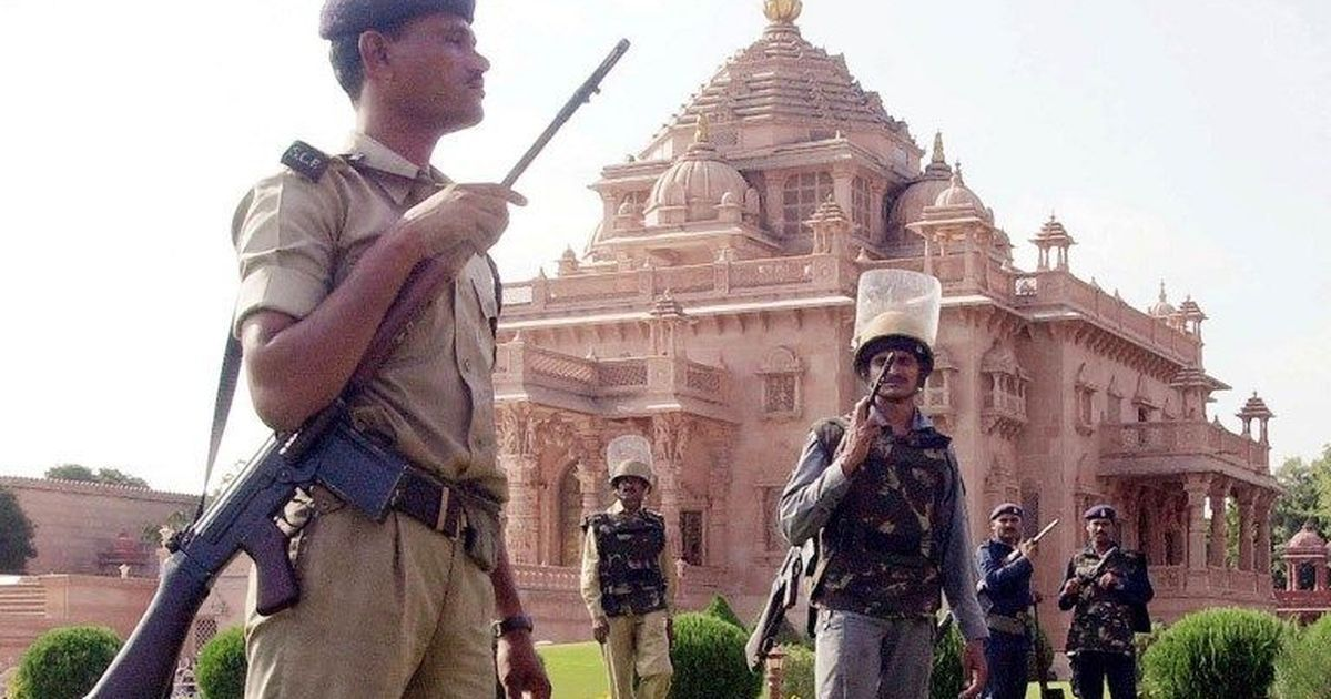 Gujarat Akshardham Temple terror attack accused arrested