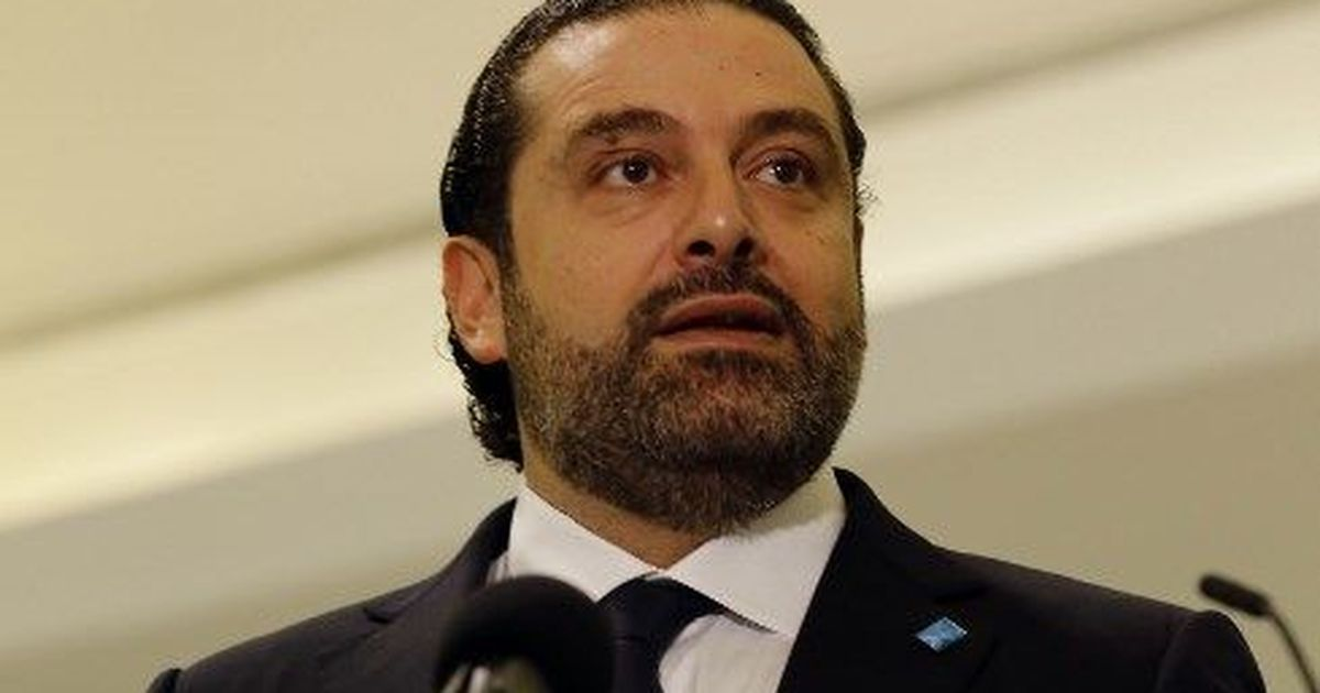 Lebanese Prime Minister Saad al-Hariri resigns, claiming threat to his life