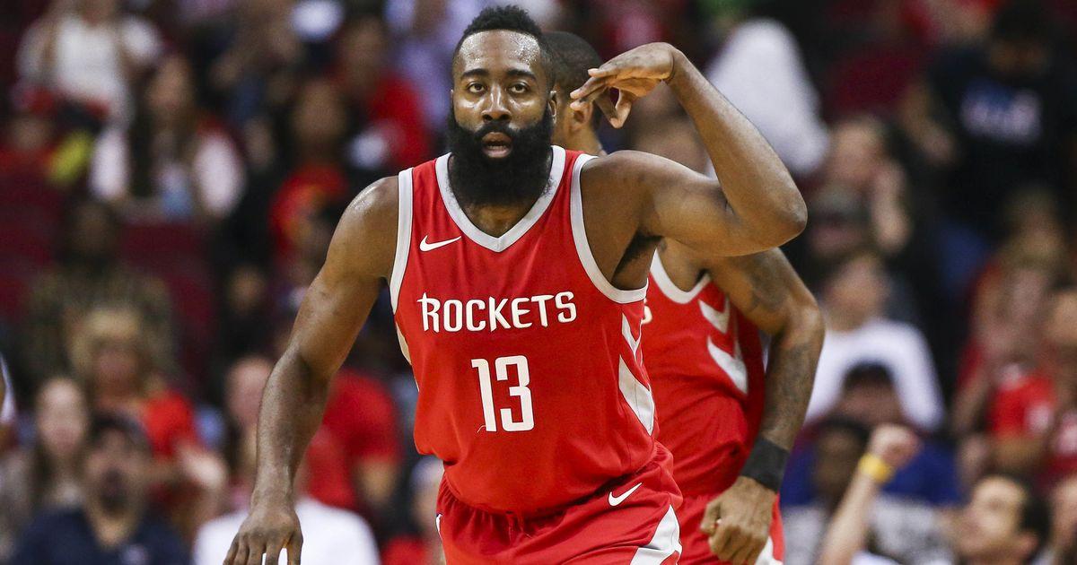 d6999df0c1d1 NBA  Houston Rockets ace James Harden crowned MVP for 2018 season