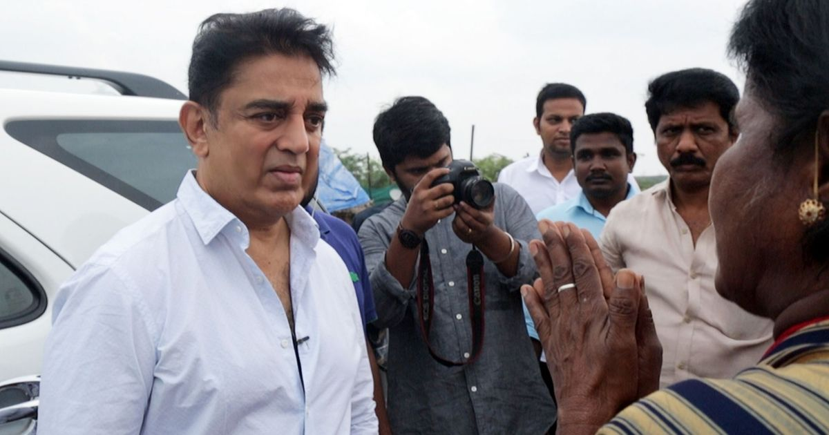 My dream is to create a good Tamil Nadu, says Kamal Haasan