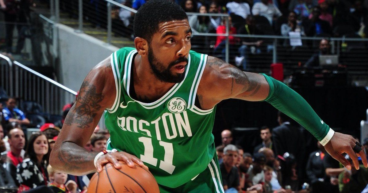 huge discount 2436b add3d NBA: Kyrie Irving leads Boston Celtics to ninth straight win ...