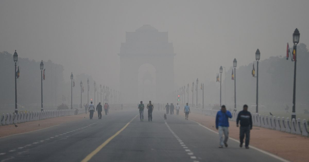 In photos: As smog envelops Delhi-NCR, a public health emergency is declared