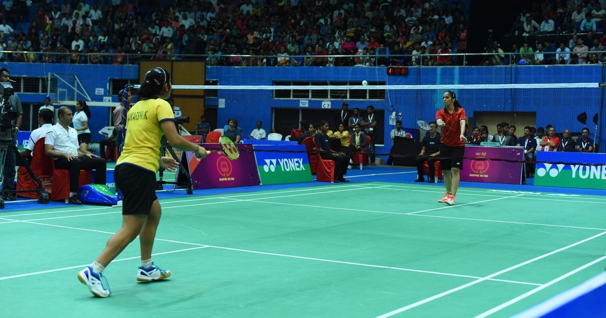 Saina beats Sindhu to clinch national championships
