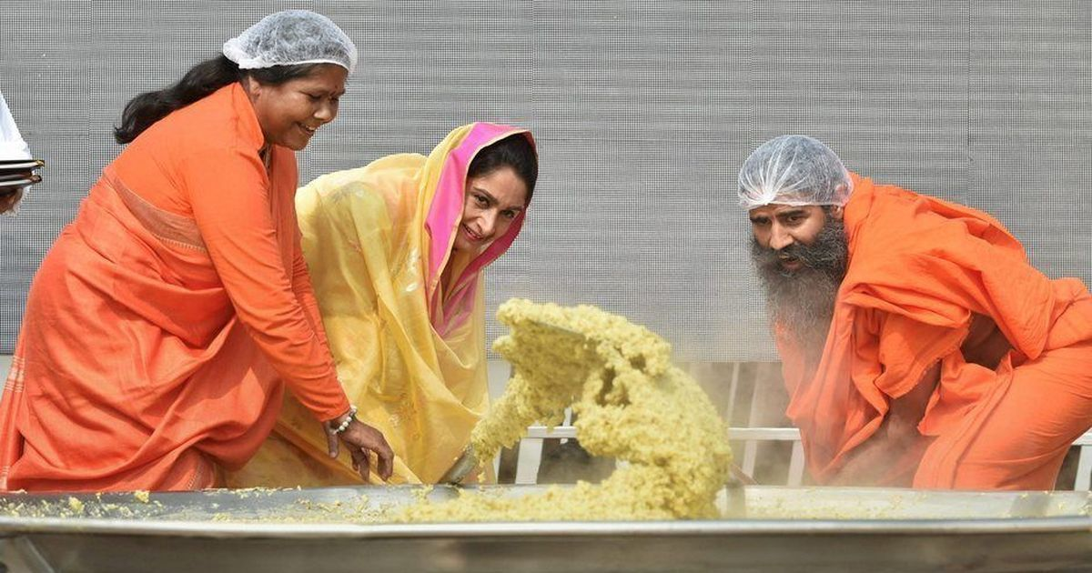 Stirring The Pot Baba Ramdevs Presence At World Food India Fair Posed A Conflict Of