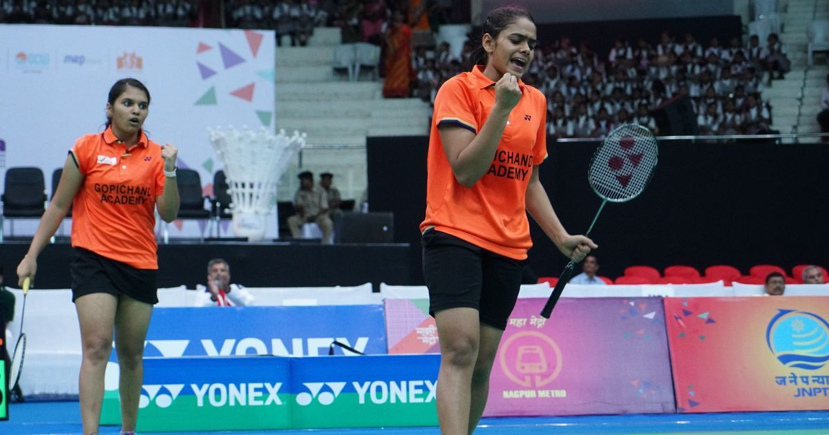 Teamed up by chance, Rutuparna and Mithula are now India's most promising women's doubles pair