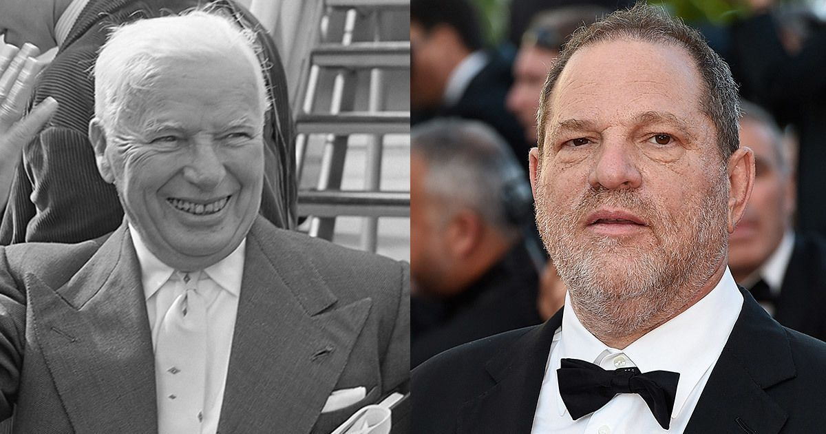 The troubling similarities between Harvey Weinstein and his idol Charlie Chaplin