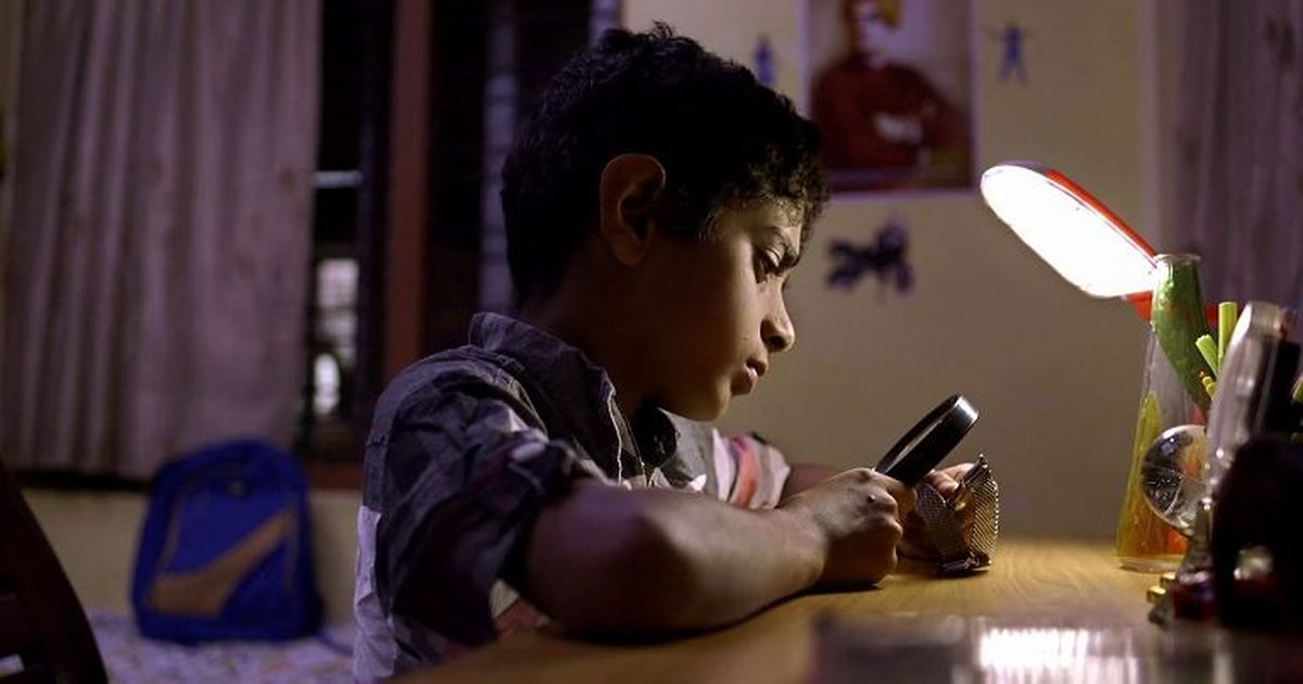 A film about an eight-year-old boy who thinks he is invisible is a moving study of loss