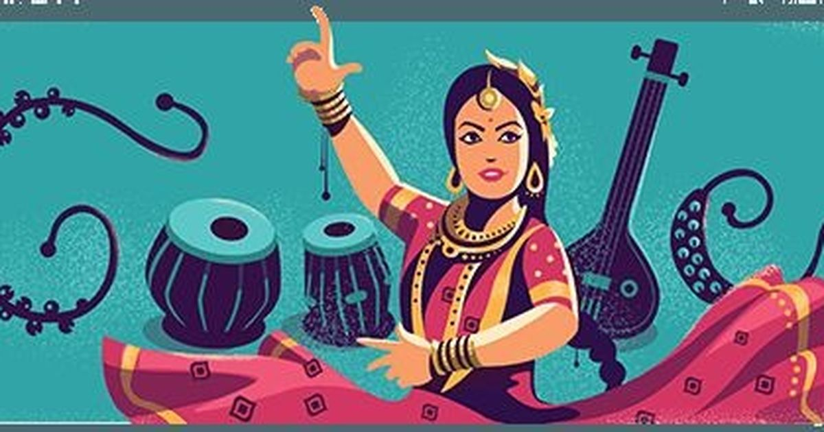 Google marks 97th birth anniversary of Kathak legend Sitara Devi with a doodle