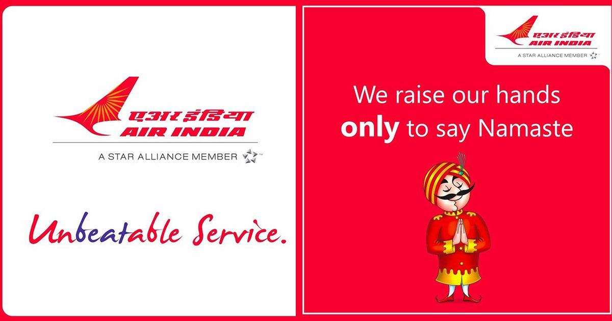Air India advertises its 'unbeatable' service, after video shows IndiGo staff roughing up passenger