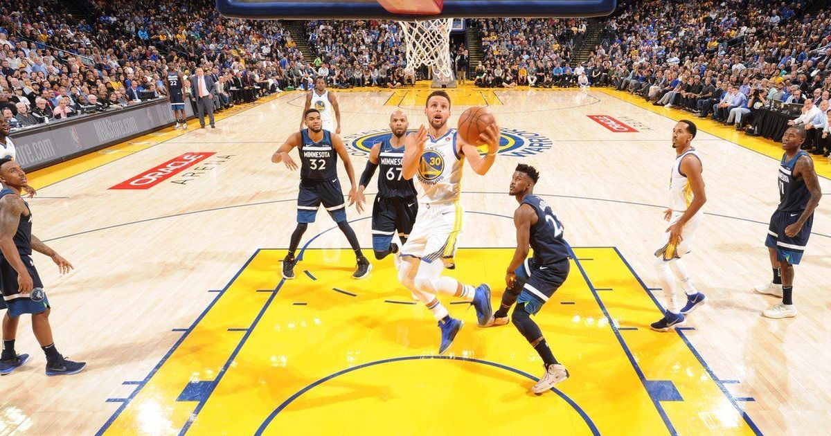 NBA: Warriors continue domination over Timberwolves to notch fifth-straight win