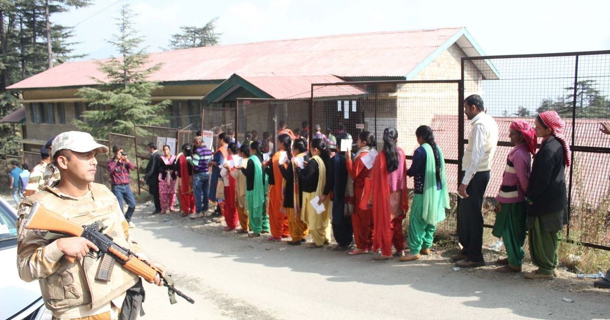 Himachal Pradesh Assembly polls: 74% voting recorded till 5 pm