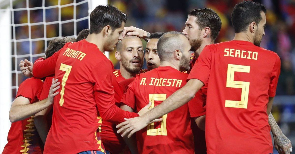 David Silva's brace sets up Spain's 5-0 thrashing of Costa Rica in friendly