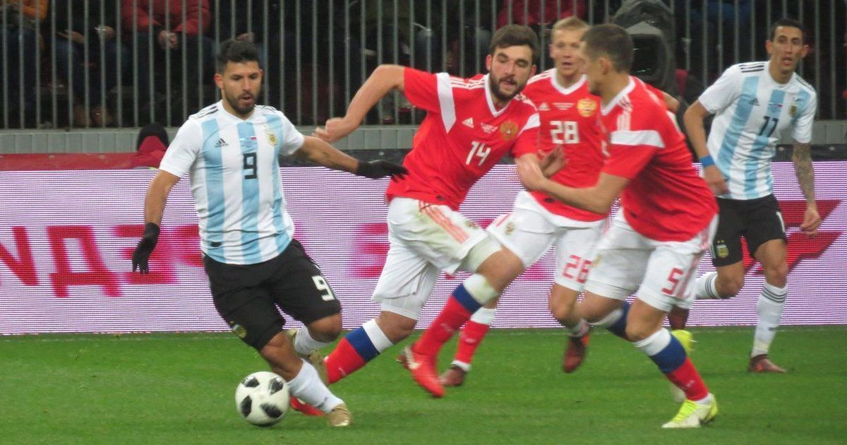 Sergio Aguero scores late winner as Argentina beat Russia 1-0 in friendly