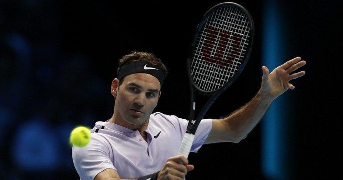 Roger Federer starts ATP Tour Finals with straight-sets win over Jack Sock