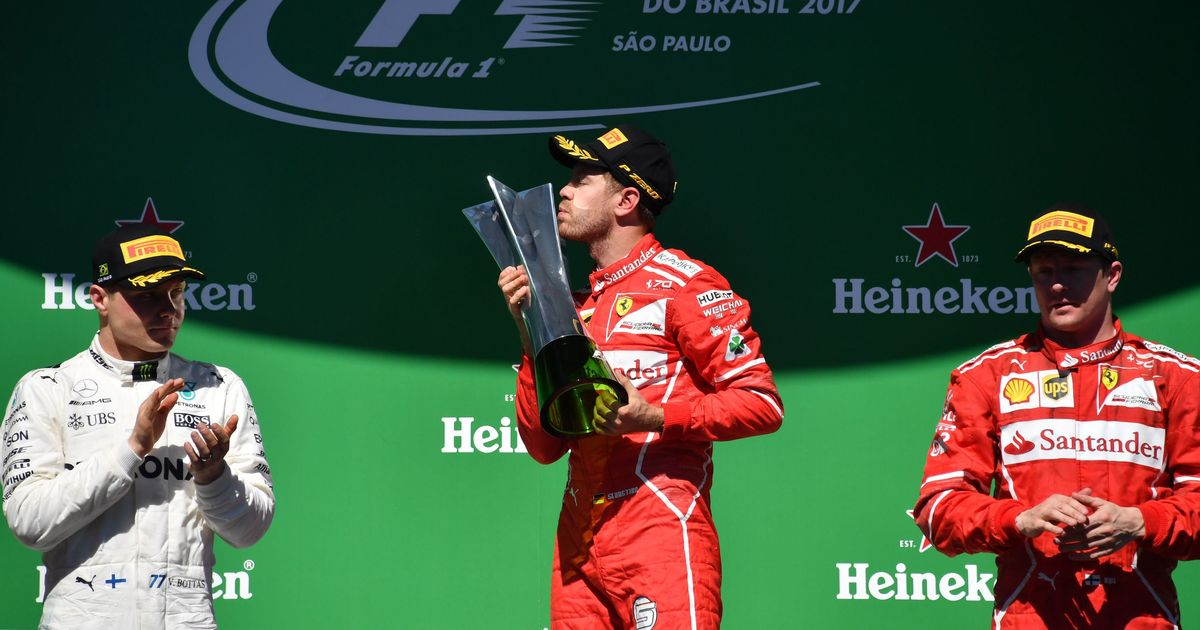 Vettel bounces back in style to win Brazilian GP, Bottas, Raikkonen finish podium