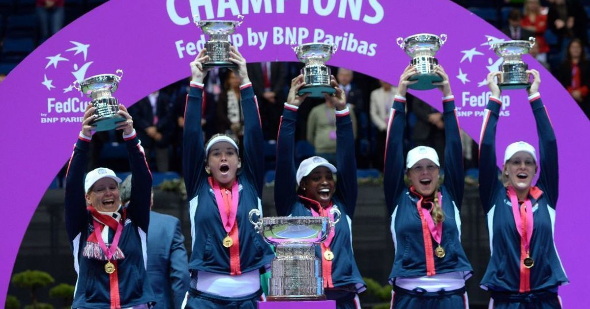 United States top Belarus in tense decider to win Fed Cup after 17 years