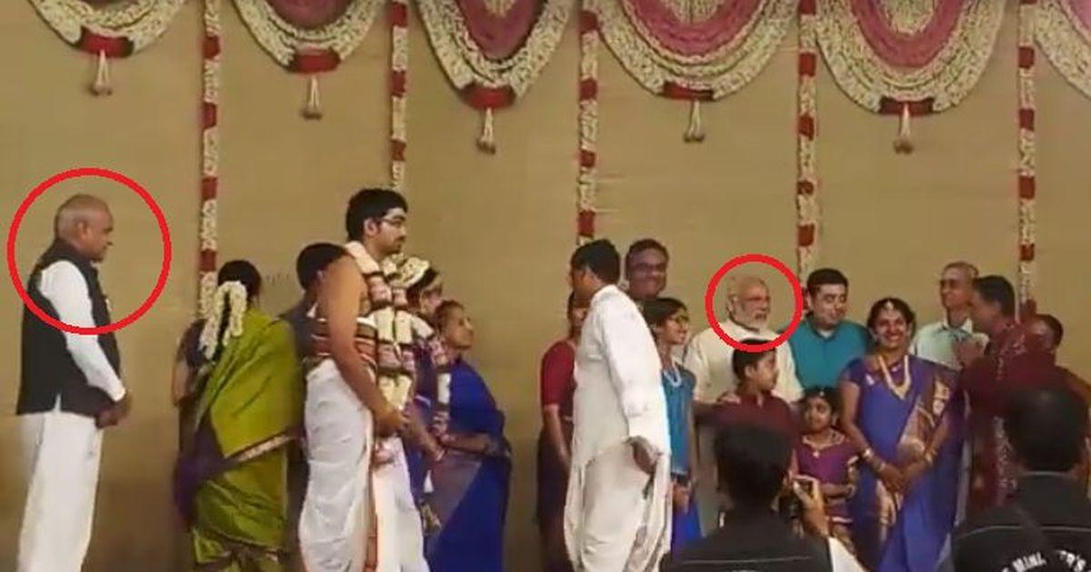 क्या इस शादी में प्रधानमंत्री मोदी ने वास्तव में 'राष्ट्रपति राम नाथ कोविंद' की उपेक्षा की थी?