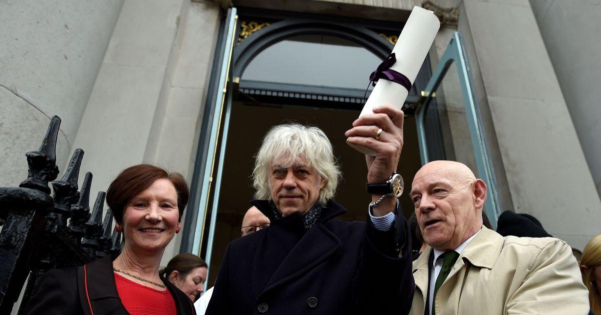 Rohingya crisis: Musician Bob Geldof returns Dublin honour in protest against Aung San Suu Kyi