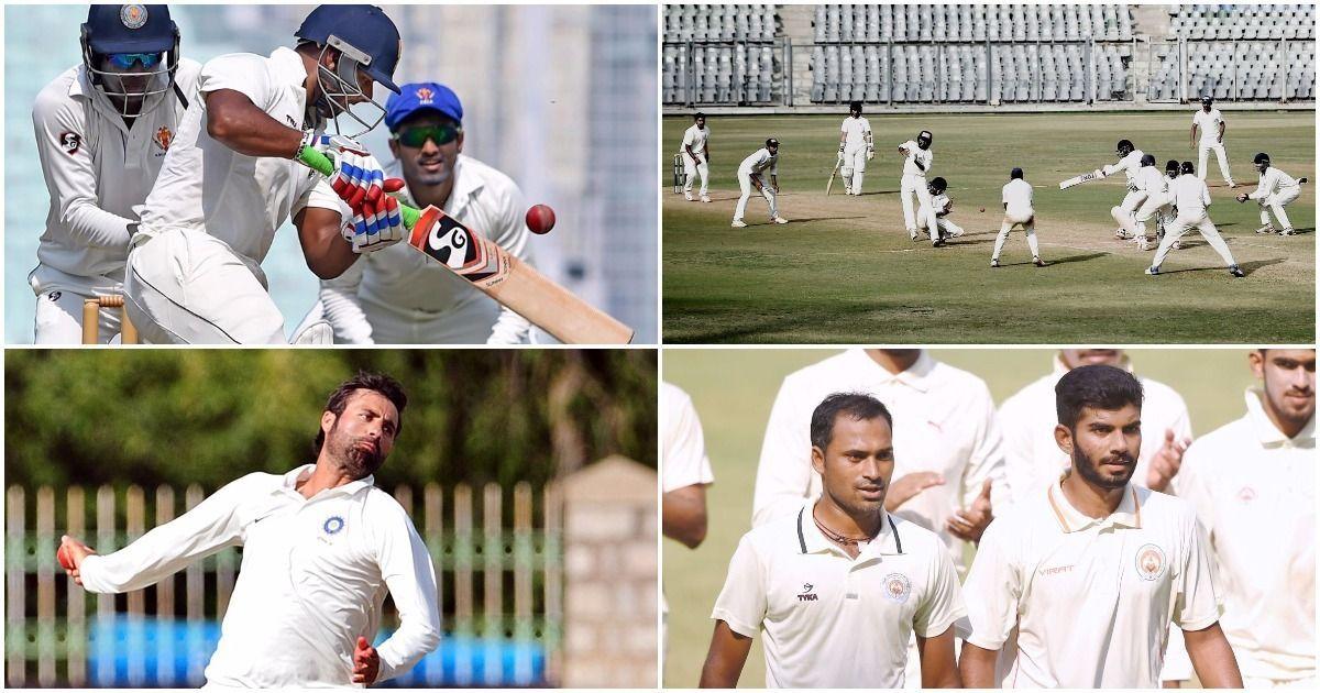 Ranji Trophy highlights: Vijay-Rahul return to form, Mumbai (just about) draw 500th game