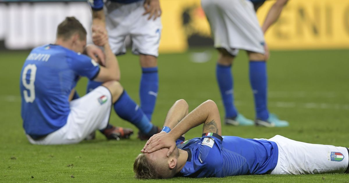 Italy fail to reach the World Cup for first time in 60 years as Sweden qualify with draw