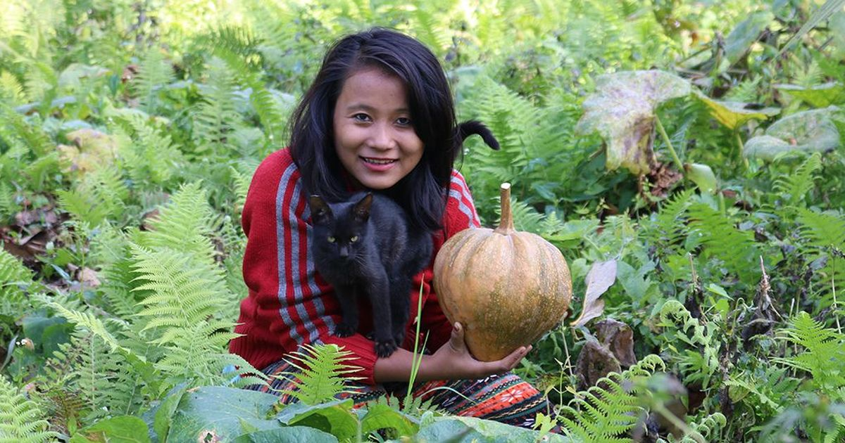 A Garo woman's YouTube channel is exploring North Eastern cuisine, one tribal kitchen at a time