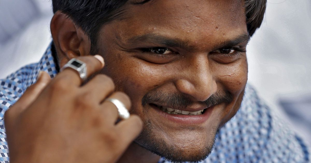 Hardik Patel says his outfit is satisfied with reservation options provided by Congress