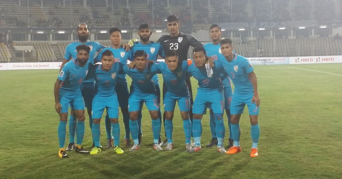 AFC Asian Cup qualifying: India come from behind twice to draw 2-2 with Myanmar