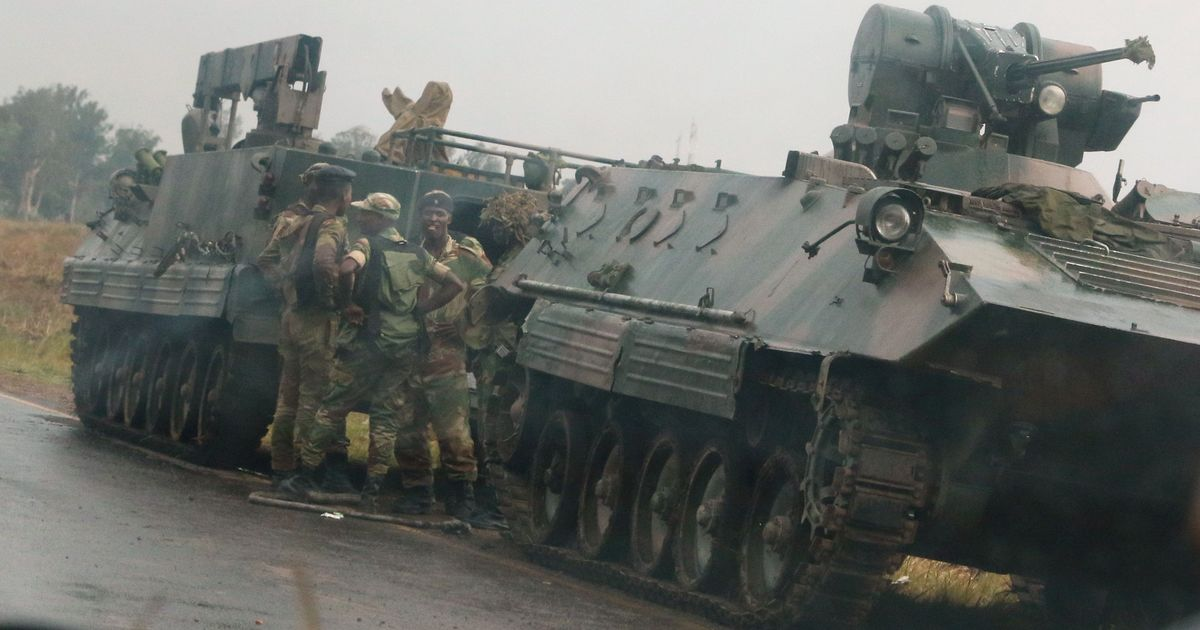 Zimbabwe's military denies coup, says it wants to target criminals around President Mugabe