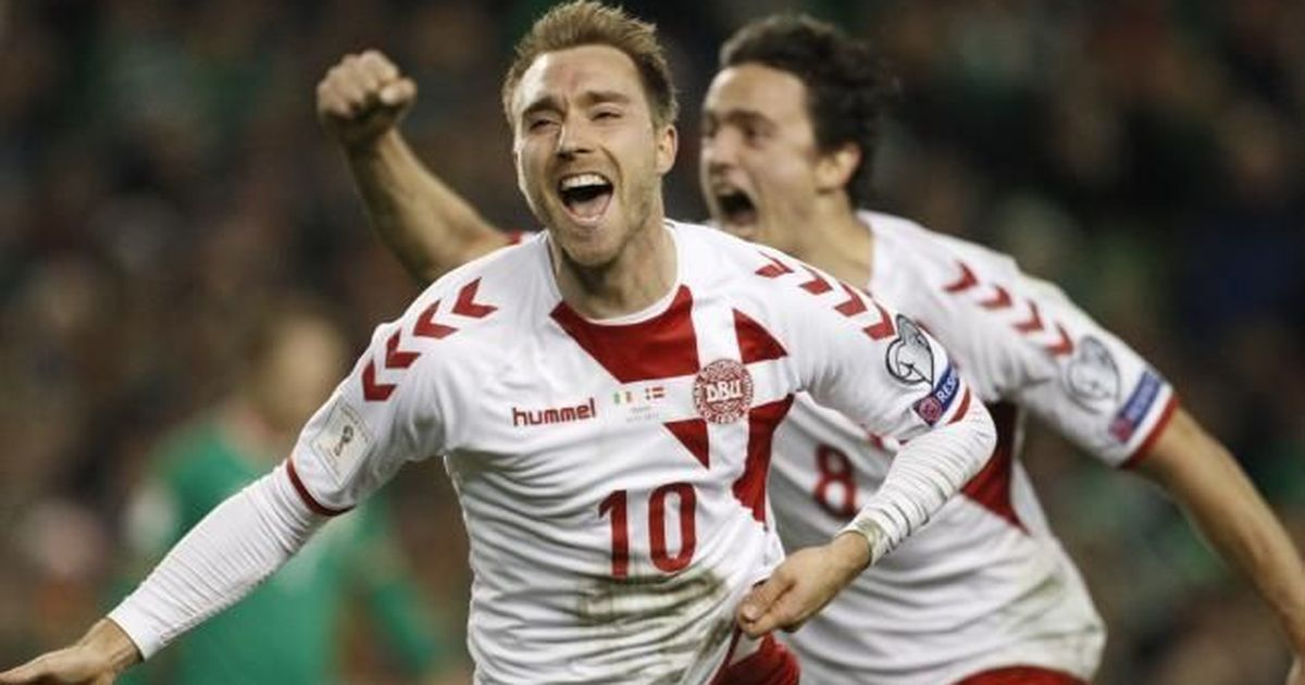 Christian Eriksen's hat-trick seals Denmark's spot in World Cup 2018, rout Ireland 5-1
