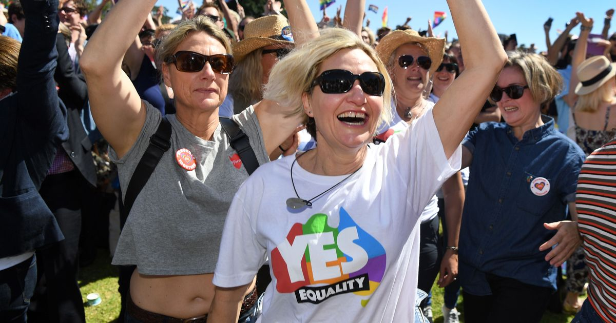Australians vote 'overwhelmingly yes' to legalise same-sex marriage