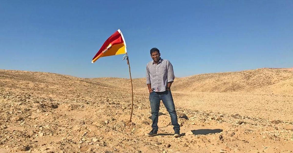 Indian man declares himself king of unclaimed land on Egypt-Sudan border