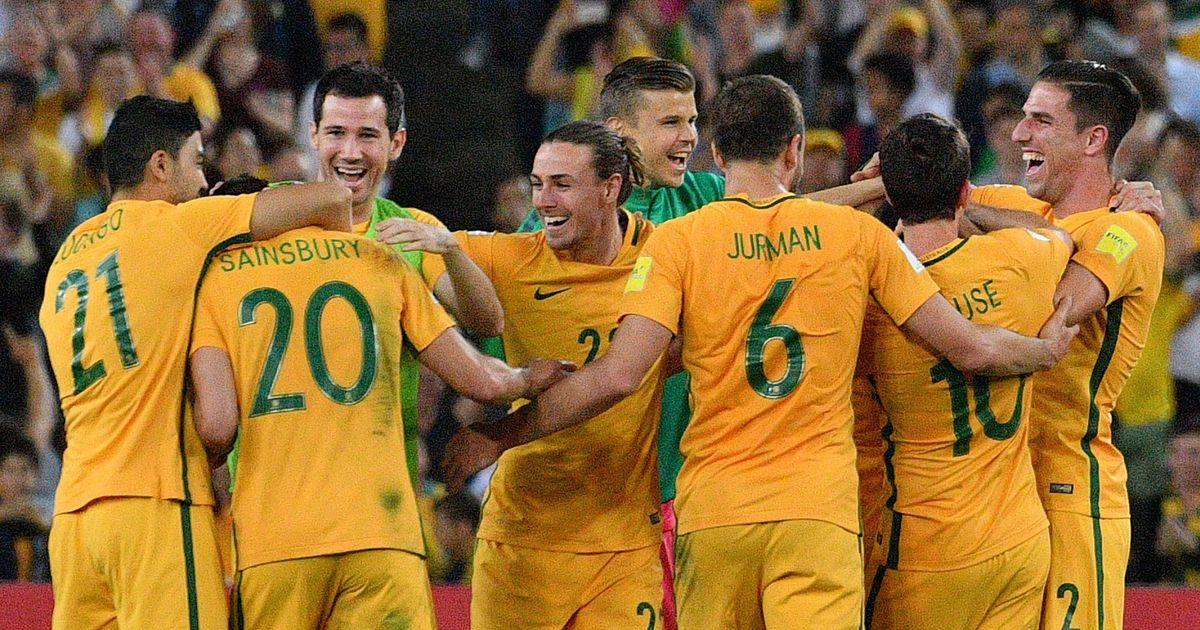 Skipper Mile Jedinak's hat-trick fires Australia into 2018 World Cup