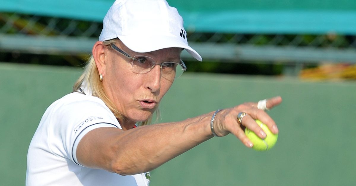 Tennis legend Martina Navratilova to be honoured with commemorative coin by Czech Mint
