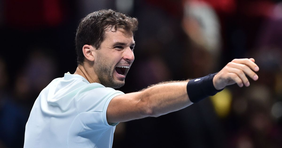 ATP Finals: Grigor Dimitrov demolishes David Goffin to storm into semi-finals
